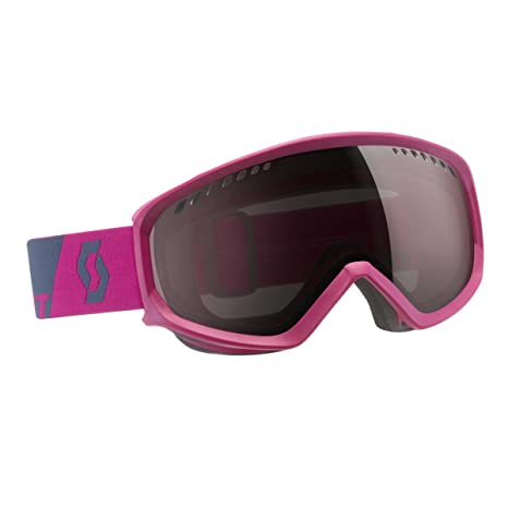 9c89d32a21a Amazon.com   Scott FAZE Snow Goggle (BERRY PINK NIGHTS BLUE Frame ...