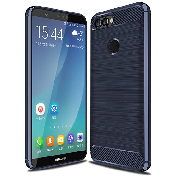 huge selection of aa3fe f36a2 Amazon.com: for Huawei P smart Case Protective Cover Shockproof ...