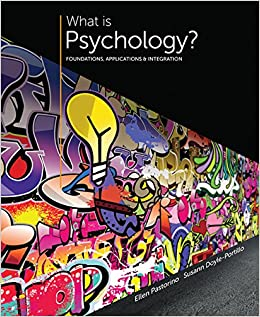 Book Bundle: What is Psychology? Foundations, Applications, and Integration, 3rd + MindTap Psychology, 1 term (6 months) Access Code