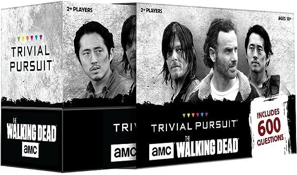 USAopoly AMC The Walking Dead Trivial Pursuit Game: Amazon.es: Juguetes y juegos