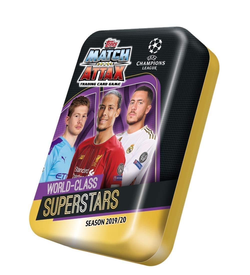 Design 3 World Class Superstars Match Attax 2019//20 Topps Mega Tin