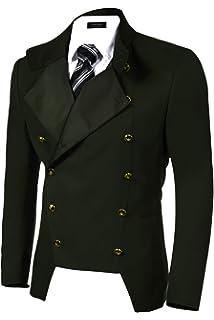 99ad060679e Realdo Mens Blazer Clearance Sale Fashion Single Row Buckle Plus ...