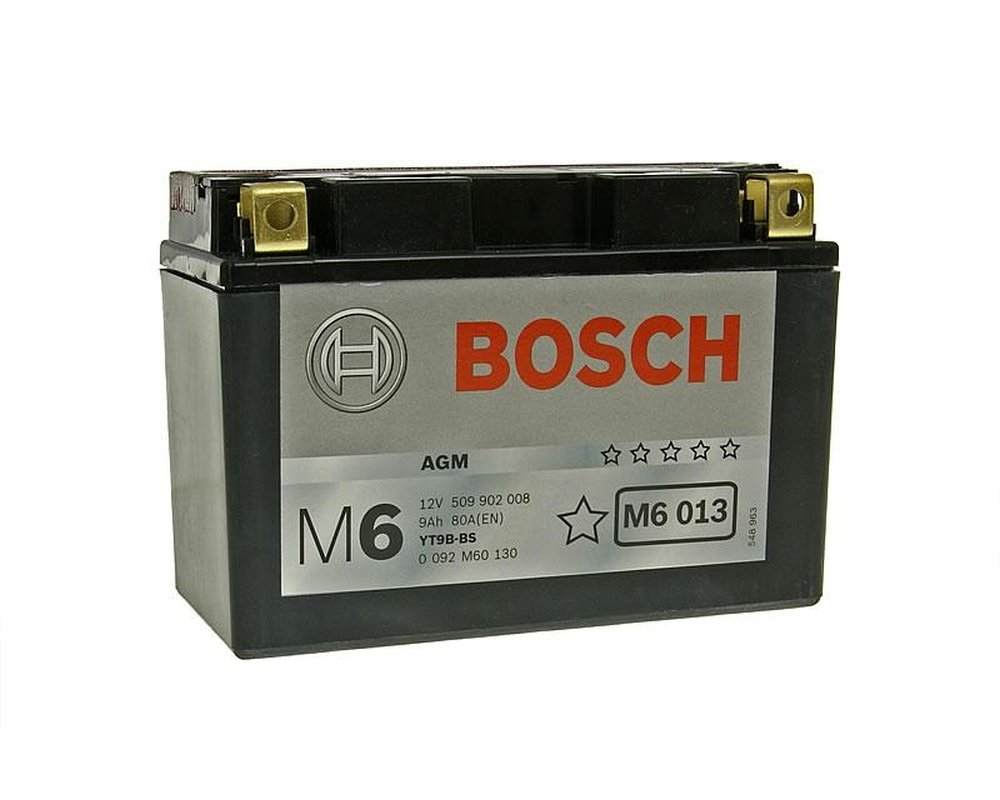 Batterie BOSCH YT9B-BS 12 Volt[ inkl.7.50 EUR Batteriepfand ]