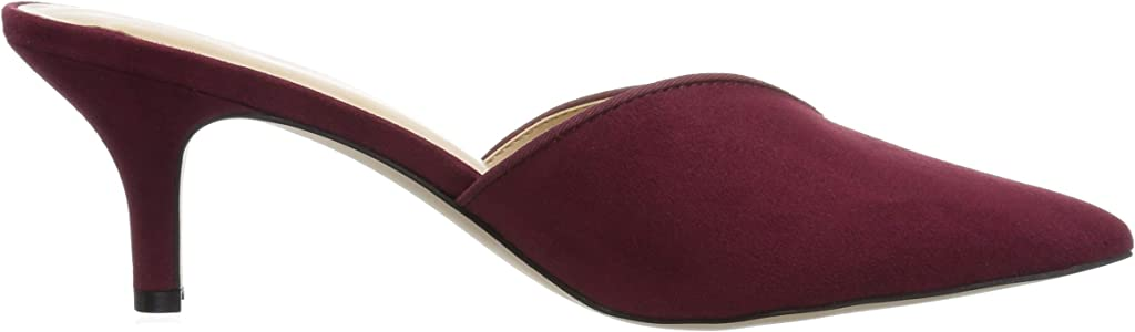 Wine Suede Athena Alexander Womens Jasper Heeled Sandal 7 M US