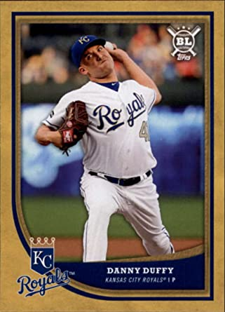 DANNY DUFFY Kansas City Royals 2008 Certified AUTOGRAPH Baseball Rookie Card RC