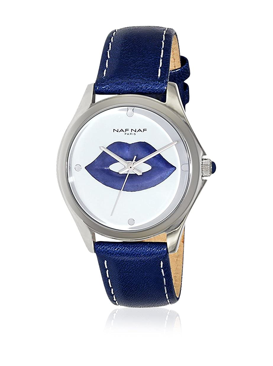 NAF NAF Reloj de cuarzo Woman BC RD SWEET KISSES 35 mm: Amazon.es: Relojes