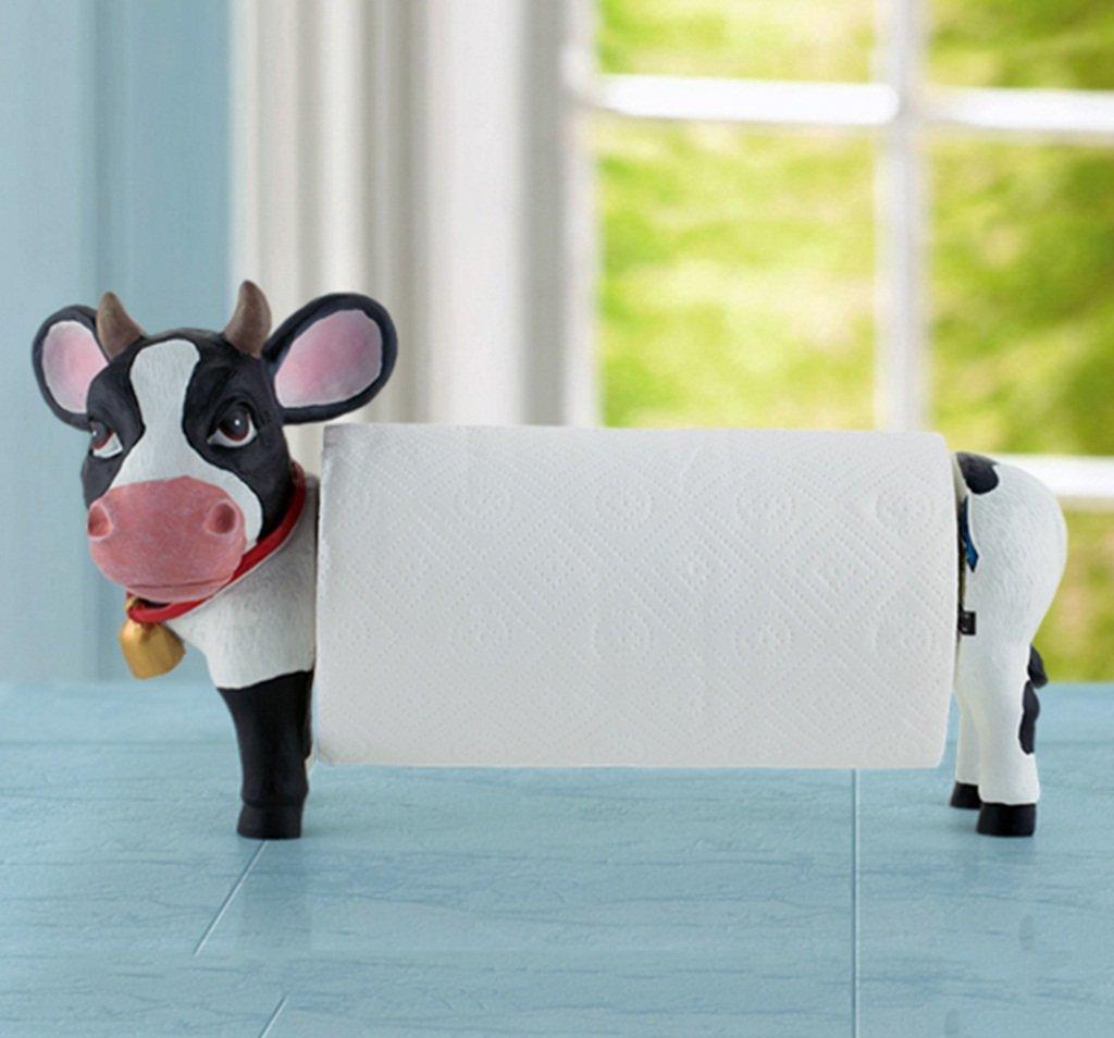 FLYSXP Sostenedor Vertical Creativo del Restaurante de la la la Vaca del retrete Sujetador de Papel de bantilde;o 3d8855