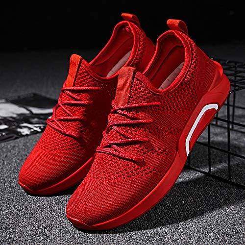 Tissage Chaussures Chaussures Et Automne d'hiver Hommes Sport NANXIEHO Volant Tendance Hommes Loisirs Net Respirant n6OwWOx