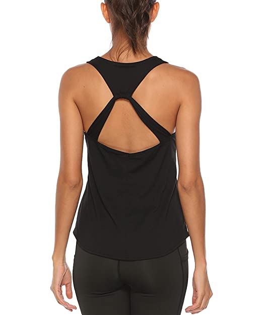 HLXFHB Workout Tops for Women Fitness Athletic Exercise Running Gym Yoga Workout Tank Tops