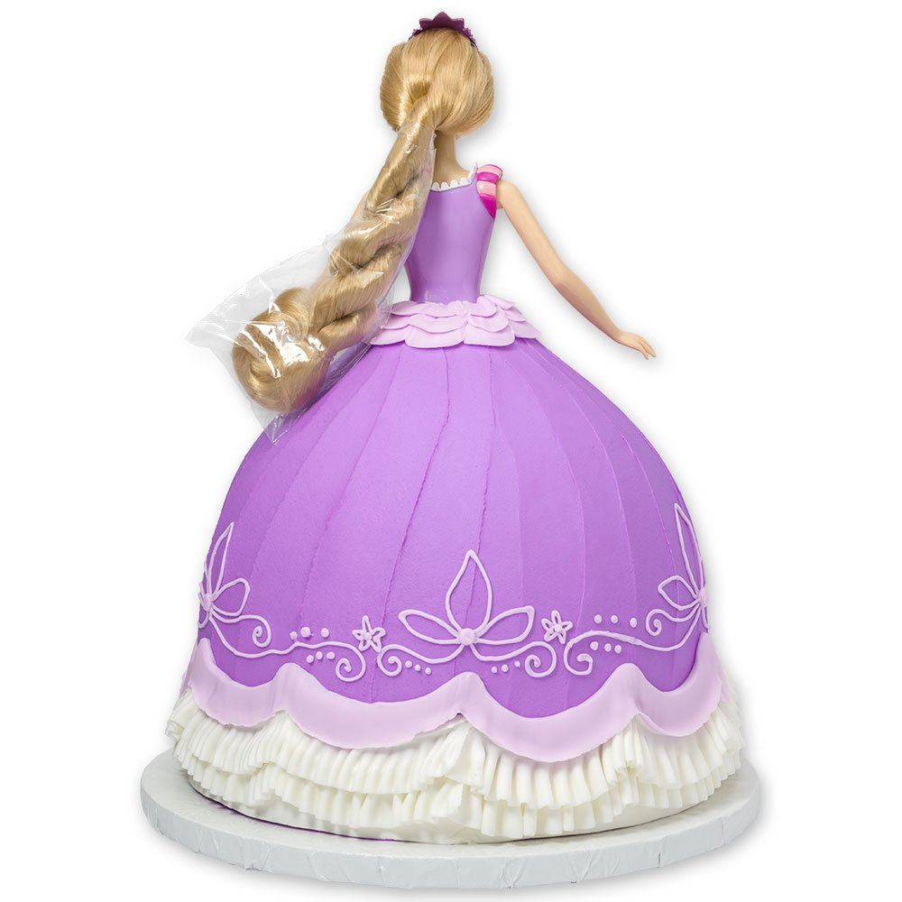 DecoPac Disney Princess Doll Signature Cake DecoSet Cake Topper, Rapunzel, 11''