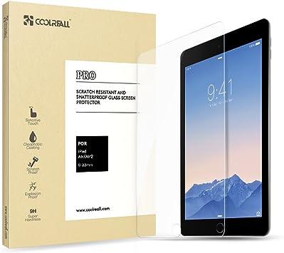 2 Pack Pellicola Vetro Temperato per iPad 9.7 Pollici 2018 // iPad 9.7 Pollici 2017 // iPad PRO 9.7 Pollici 2016 // iPad Air//iPad Air 2 Protezione per Schermo iVoler Pellicola Protettiva