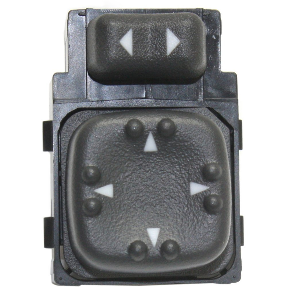 Evan-Fischer EVA48812051410 Mirror Switch for SILVERADO/SIERRA 00-02 Front Left Side 9 Blade Terminal Type