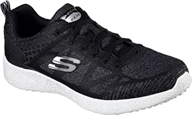 Skechers Men's Burst Deal Closer Training Shoe,Black/White,US ...