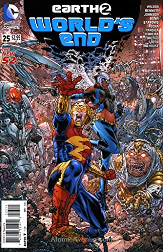 Earth 2: World's End #25 VF/NM ; DC comic book]()