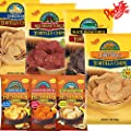 Plocky's Chips 3 Pack - Tortilla Chips And Gluten-Free Hummus Chips - Variety Of Flavors To Pick And Mix - Fresh Product - USA Made