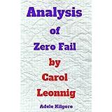 Analysis of Zero Fail by Carol Leonnig