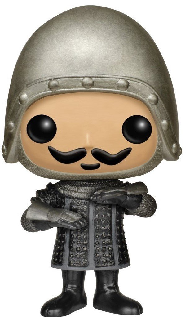 Funko Pop Bundled with Pop Box Protector CASE French Taunter Vinyl Figure Movies: Monty Python and The Holy Grail