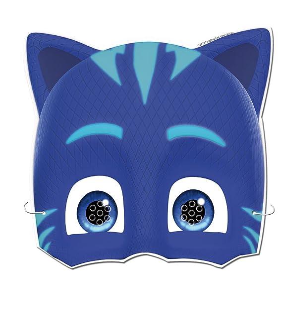 PJ Masks- Caretas para decoración de fiestas (Verbetena 016001309)