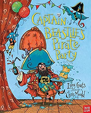 book cover of Captain Beastlie\'s Pirate Party