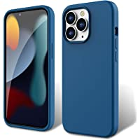 """ZUSLAB Liquid Silicone Case Compatible with iPhone 13 Pro 6.1"""" 2021 Real Silicone Anti-Scratch Gel Rubber Shockproof…"""