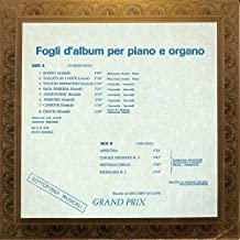 Fogli d'album per piano e organo