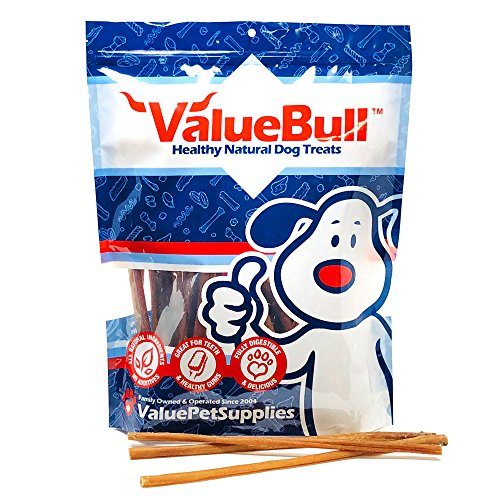 ValueBull All Natural 12 Inch Regular/Thin Bully Sticks for Dogs, 50 Count by ValueBull (Image #2)