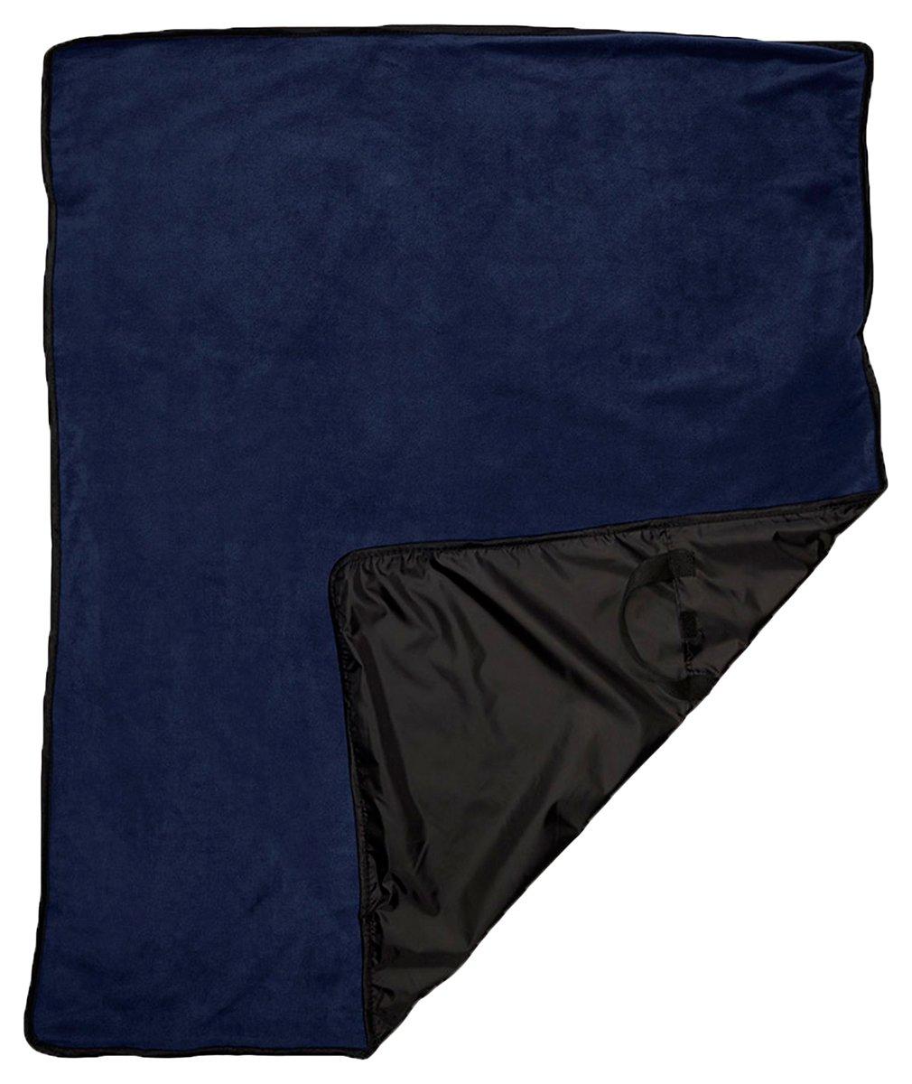 ウルトラクラブ撥水持ち運び簡単フルサイズピクニックブランケット B00V2NRH5A ネイビー One Size One Size|ネイビー