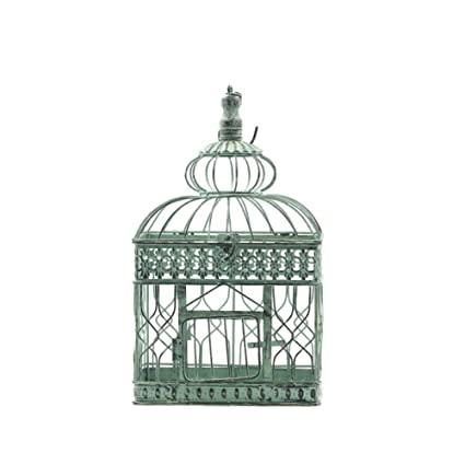 Amazon Sed Decorations Retro Home Wrought Iron Bird Cage