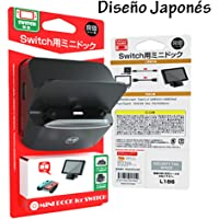 Nintendo Switch Dock Portátil Multiport, Soporte Ángulo Ajustable, con 3 USB port 1 HDMI Output y 1 Input de Fuente, Diseño Japonés