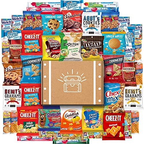 Cookies, Chips & Candies Care Package Variety Pack Bundle Sampler