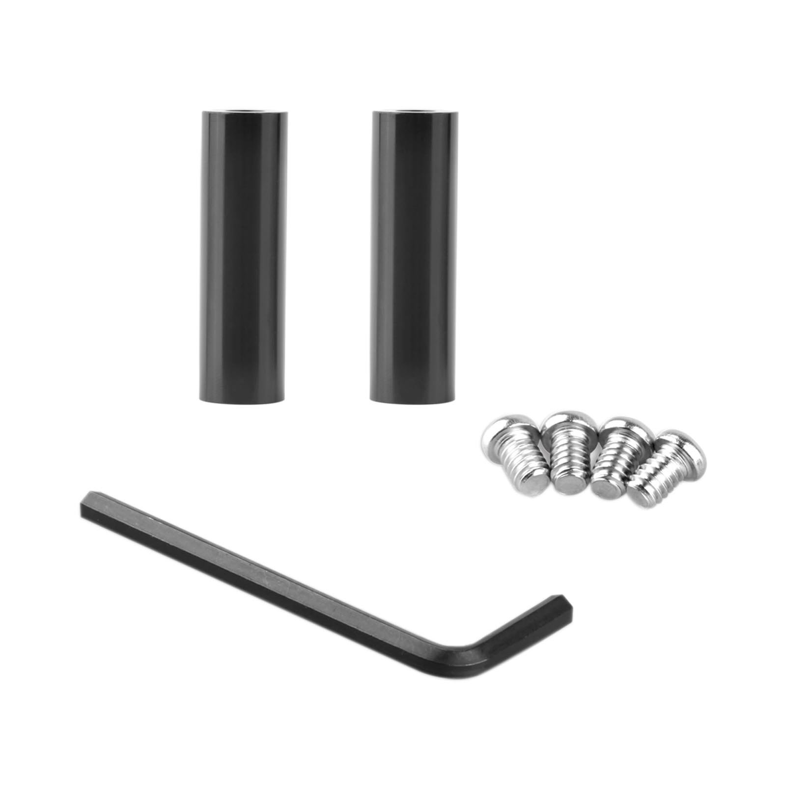 SMALLRIG 1523 15mm Rods 2 Inch 50mm Long with 1/4-20 Thre...
