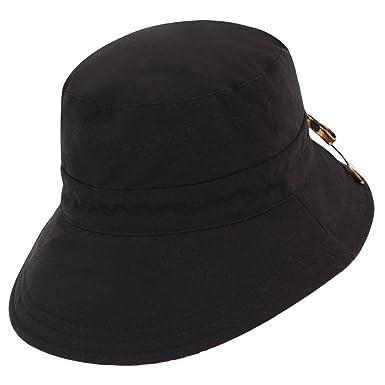 d09c66fc8 Kooringal Ladies Reversible Golf Hat (Black) at Amazon Women's ...