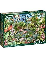 Falcon de luxe Tropical Conservatory 1000pcs Legpuzzel 1000 stuk(s)