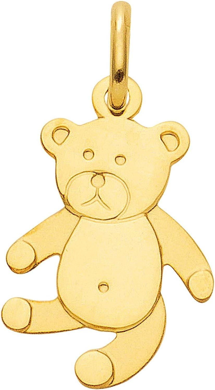 Kettenanh/änger aus 333 echt Gold 8 Karat Teddy B/är Anh/änger