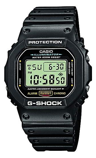 460a960877ec Casio Reloj Digital para Hombre de Cuarzo con Correa en Resina  DW-5600E-1VER  Amazon.es  Relojes