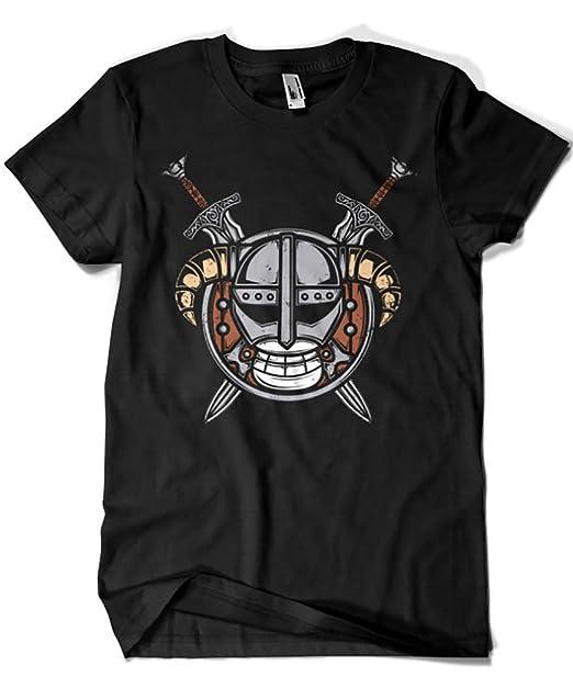 b2e5242b2f 813-Camiseta Dovahkiin Pirate (Typhoonic)  Amazon.es  Ropa y accesorios