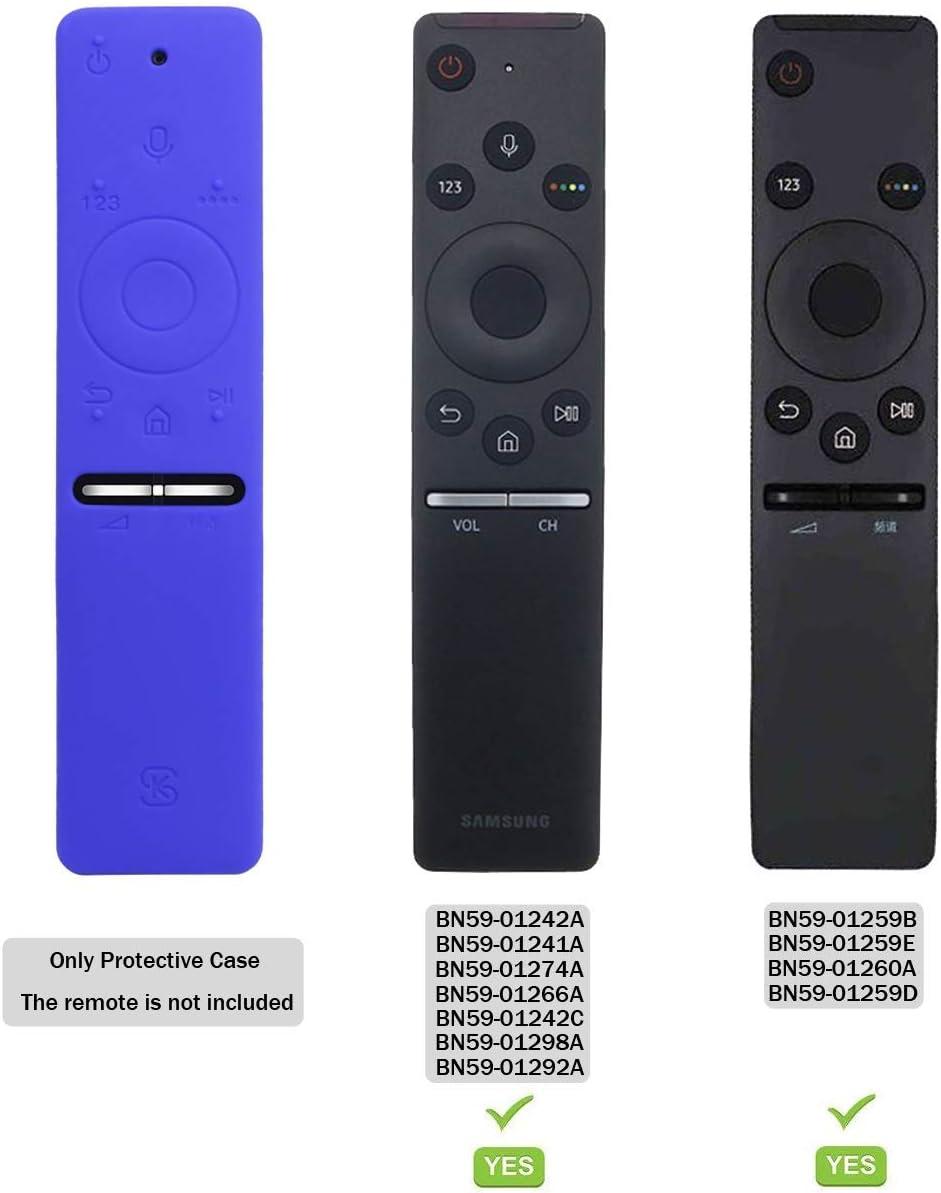 Funda para el Mando a Distancia Case Samsung 4K UHD Smart TV SIKAI Antideslizante de BN59-01259B BN59-01242A Silicona Carcasa Funda Case con Cordón respetuosa con el Medioambiente (Azul): Amazon.es: Electrónica