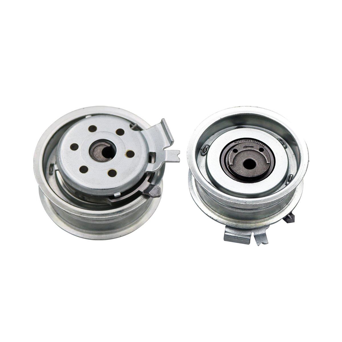 Amazon.com: Timing Belt Water Pump Kit for VW Beetle Golf Jetta 2.0L L4 SOHC AEG ACH AZG, 8v: Automotive