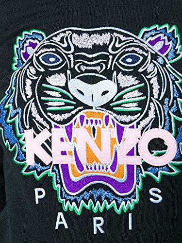 Kenzo Felpa Donna F852SW7054XA99 Cotone Nero
