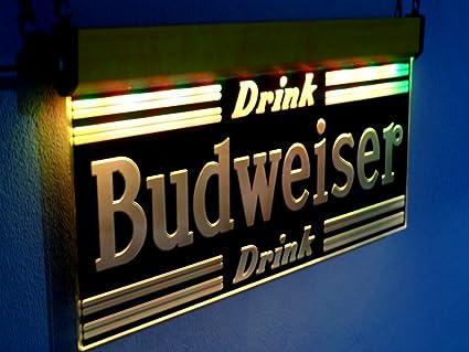 Buy Advertising Budweiser Neon Sign LED Light Beer Bar