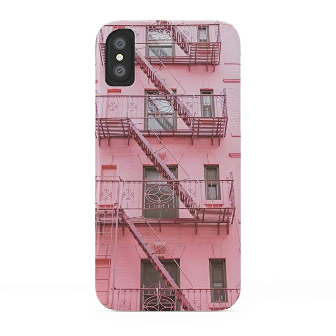 free shipping da255 7f74e Amazon.com: Society6 iPhone X Cases, Featuring Pink Soho NYC by ...