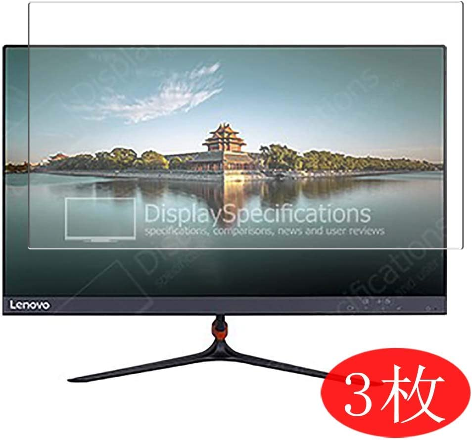 "【3 Pack】 Synvy Screen Protector for Lenovo LI2264d 21.5"" Display Monitor TPU Flexible HD Film Protective Protectors [Not Tempered Glass]"