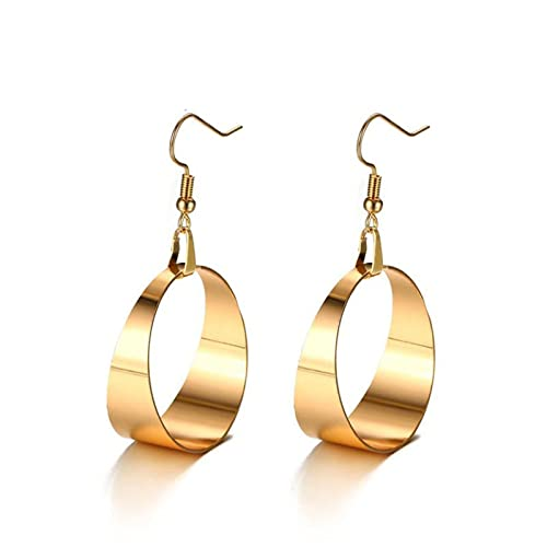 a88c886b8 Image Unavailable. Image not available for. Color: Anazoz Womens Earrings, Stainless  Steel Gold ...