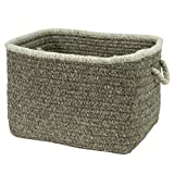 Natural Style Square Basket NS42 Colonial Mills , 18 by 18 by 12'', Rockport Gray