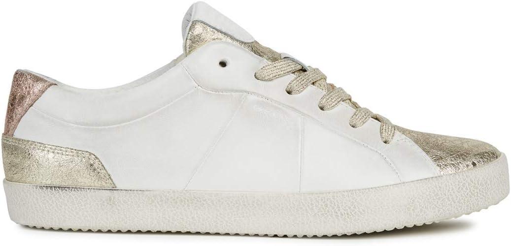 Tiempos antiguos político pedestal  Geox D Warley A, Zapatillas para Mujer: Amazon.es: Zapatos y complementos