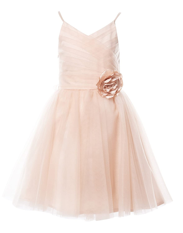 8f8080ae9 Blush Tutu Flower Girl Dresses