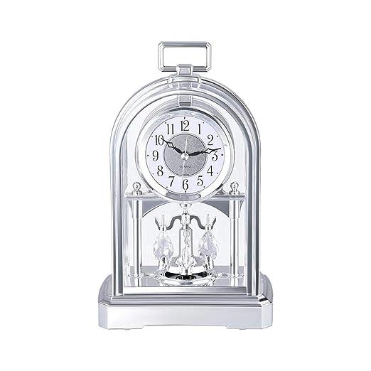 Fengfeng Mantel Relojes, Mesa Mesa Reloj Péndulo Silencioso ...
