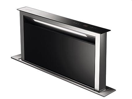 Smeg kdd90vxe aspirazione verso il basso nero acciaio inossidabile
