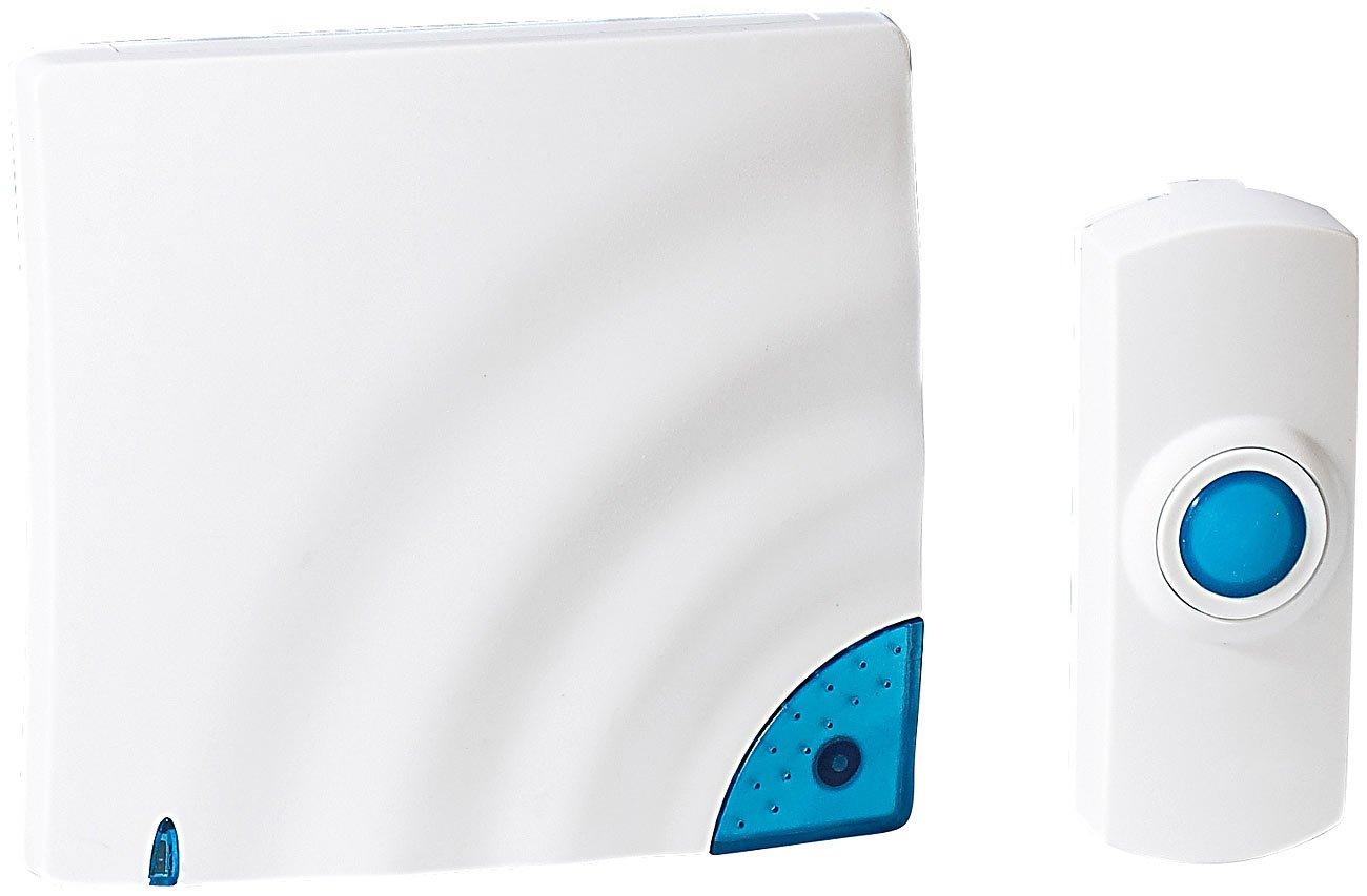 FreeTec - Timbre con módulo inalámbrico por radio con grabadora de voz (10 segundos, 32 tonos)