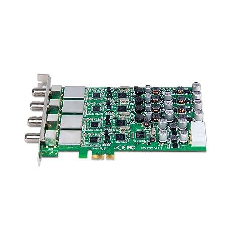 Amazon in: Buy X9320 PCI Express DVB-S/S2 Quad Tuner Digital